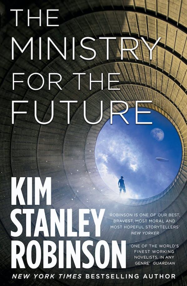 """Image of the book """"The ministry for the future by Kim Stanley Robinson"""""""
